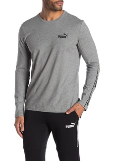 Puma Amplified Logo Long Sleeve T-Shirt