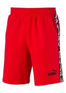 Puma Amplified Logo Racing Stripe Shorts