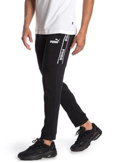 Puma Amplified Logo Stripe Joggers