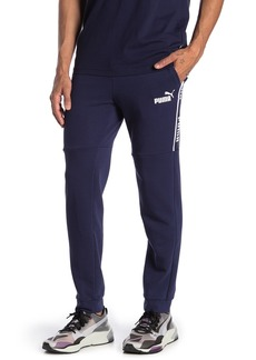 Puma Amplified Logo Stripe Joggers