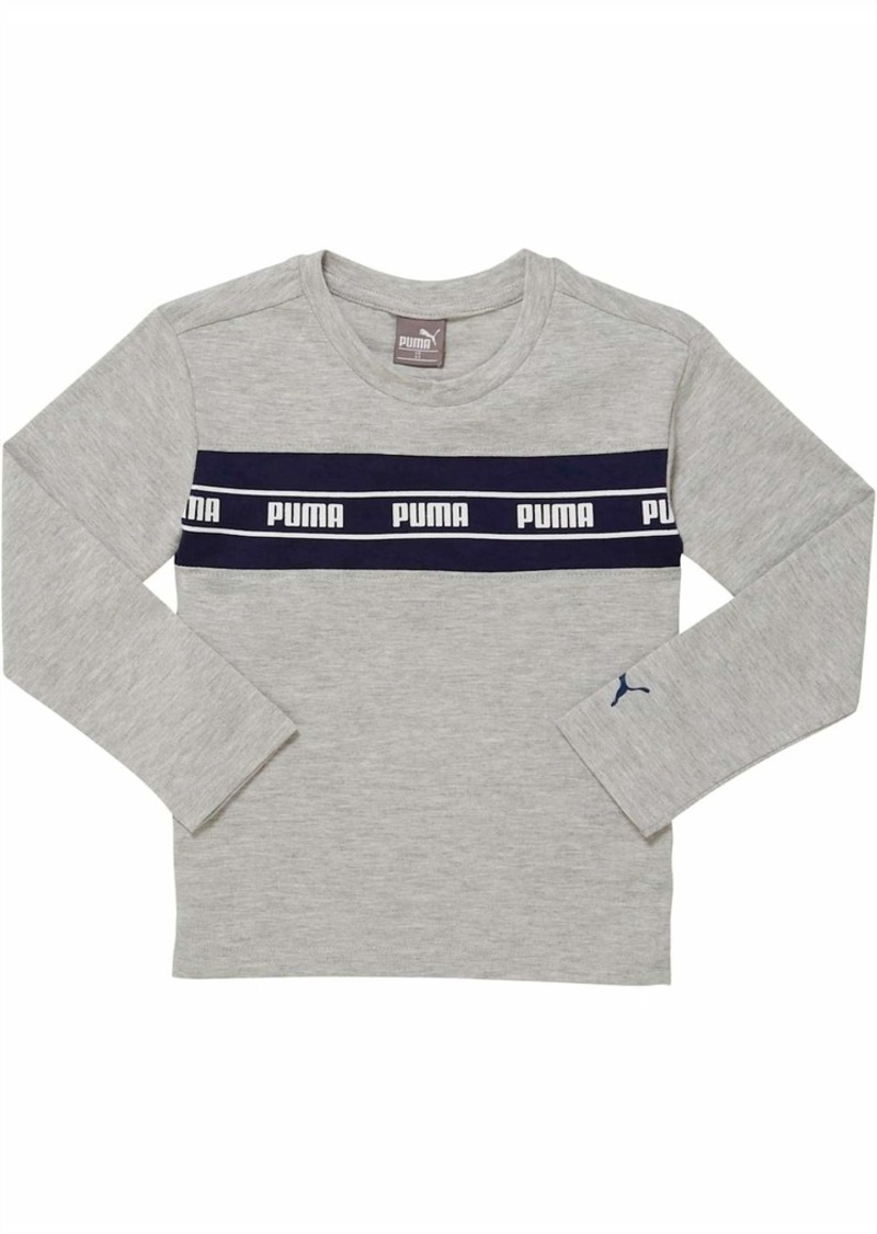 Puma Amplified Pack Toddler Pieced Long Sleeve Tee