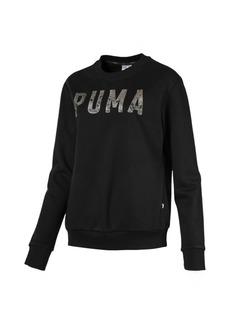 Puma Athletic Crew Fleece Women's Sweatshirt