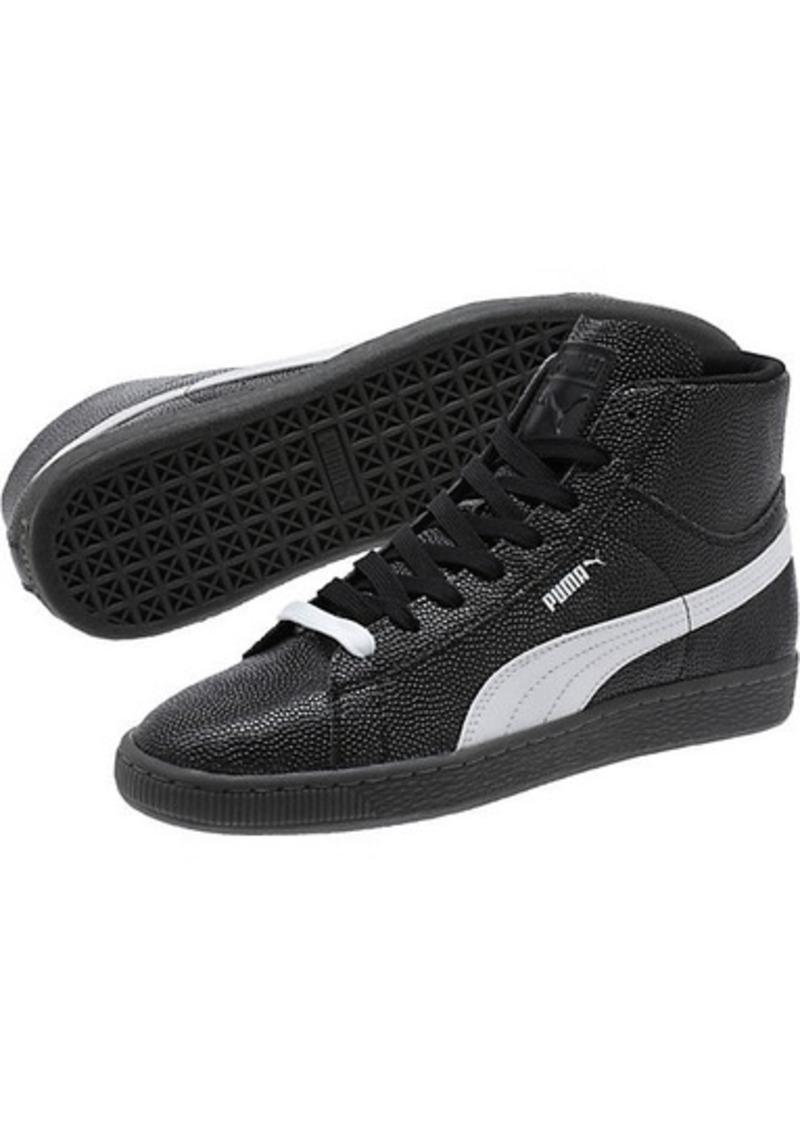 online retailer c1c4e 024e4 Basket Classic Embossed Mid Men's Sneakers