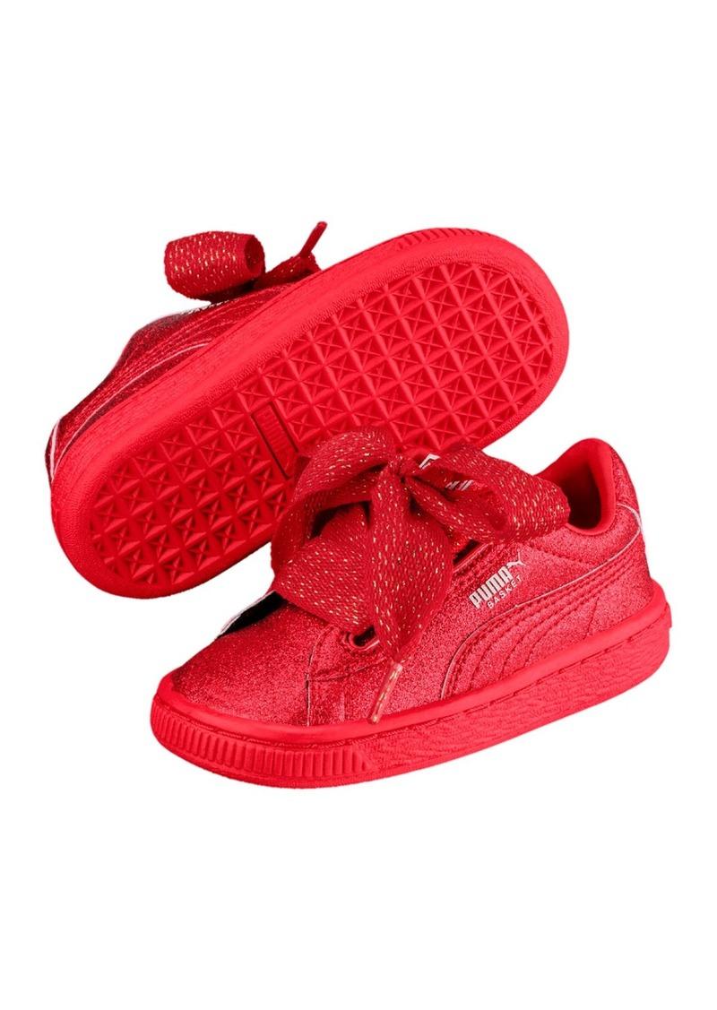 timeless design 3f2ec 6c9ef Basket Heart Holiday Glam Sneaker (Little Kid)
