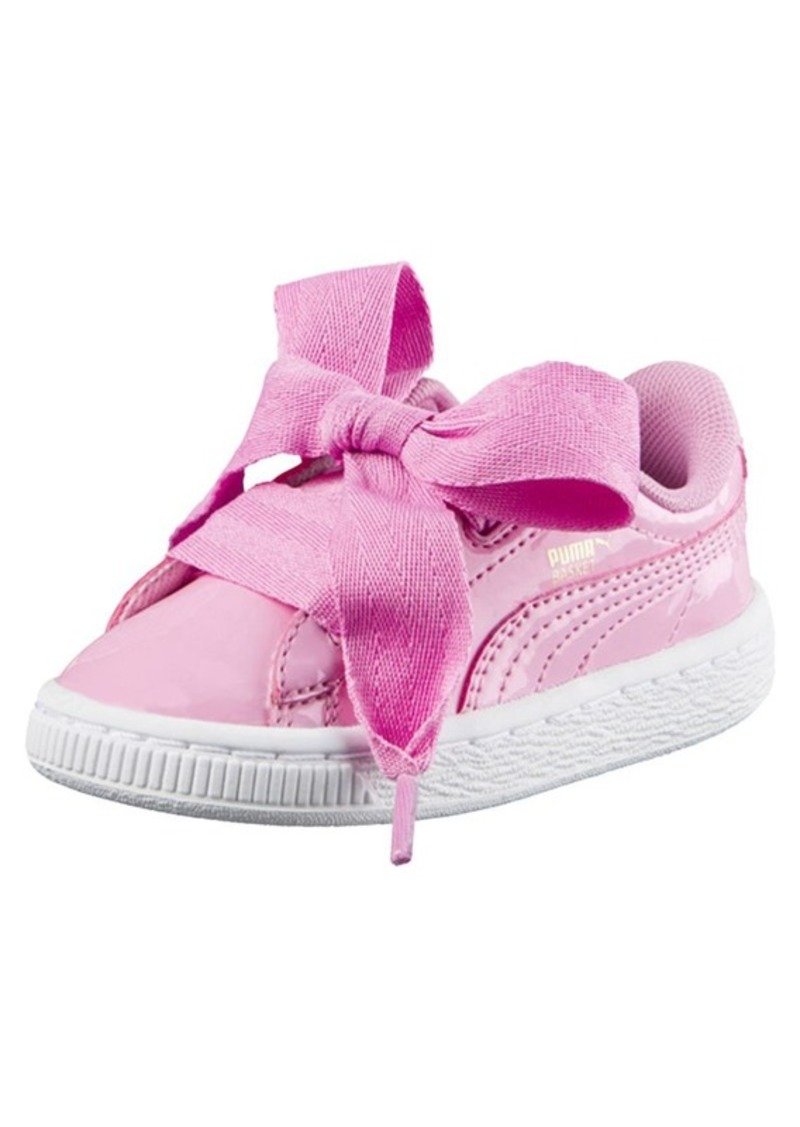 buy online aeeb8 82e24 Puma Basket Heart Patent Sneakers INF Now $39.99