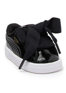 Puma Basket Heart Patent Sneaker (Toddler)