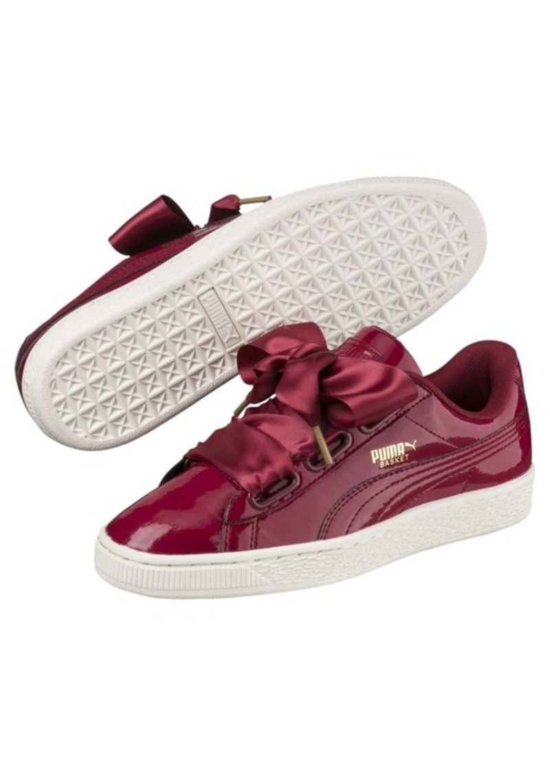 e29a29aeacf Puma Basket Heart Patent Women s Sneakers