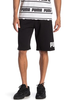 Puma Big Logo Fleece Shorts