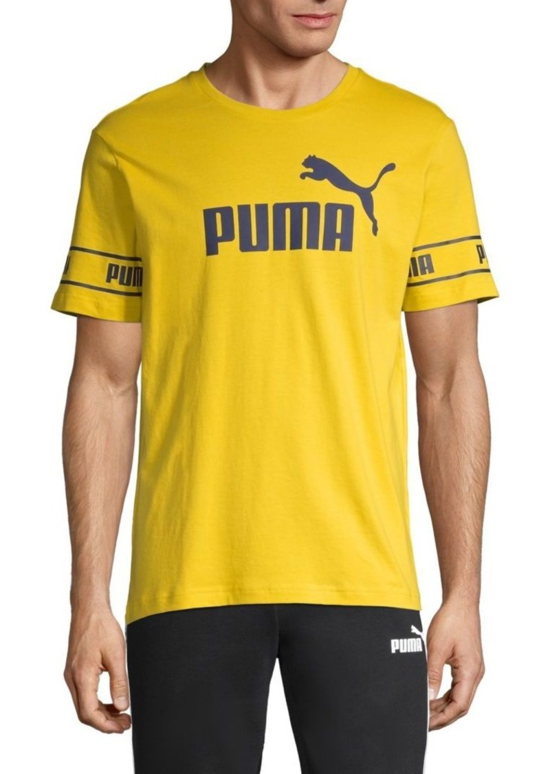 Puma Big Logo Cotton Tee