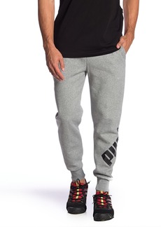 Puma Big Logo Fleece Lined Sweatpants