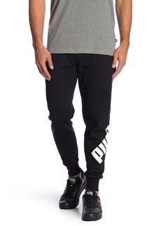 Puma Big Logo Fleece Lined Sweatpants