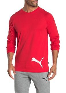Puma Big Logo Long Sleeve T-Shirt