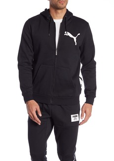 Puma Big Logo Zip-Up Hoodie