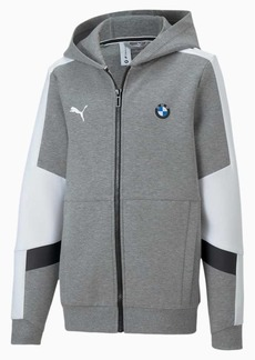 Puma BMW M Motorsport Boys' Hooded Sweat Jacket JR