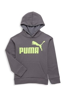 Puma Boy's Logo Cotton-Blend Hoodie
