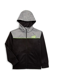 Puma Boy's Logo Hooded Jacket