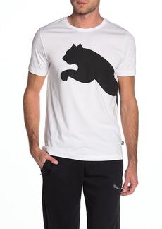 Puma Brand Logo Graphic Short Sleeve T-Shirt