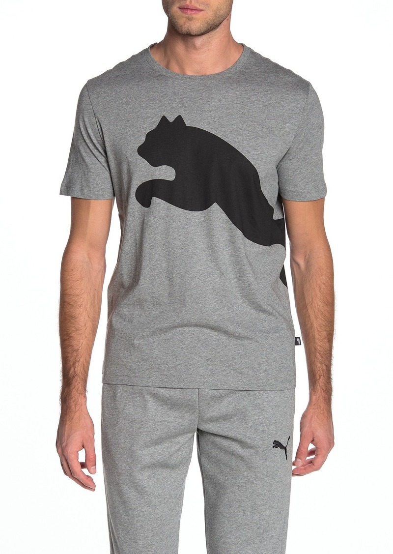 Puma Brand Logo Graphic T-Shirt