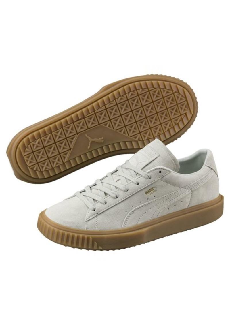 28196b6c53c6 Puma Breaker Suede Gum Sneakers