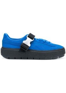 Puma buckle platform sneakers