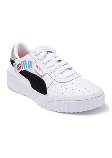 Puma Cali Glitz Leather Platform Sneaker