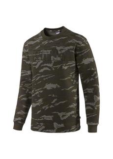 Puma Camo Men's Fleece Crewneck Sweatshirt