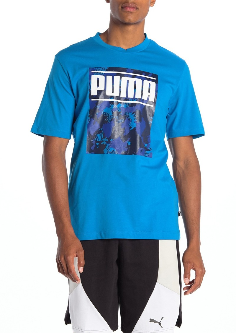 Puma Camo Pack Logo T-Shirt