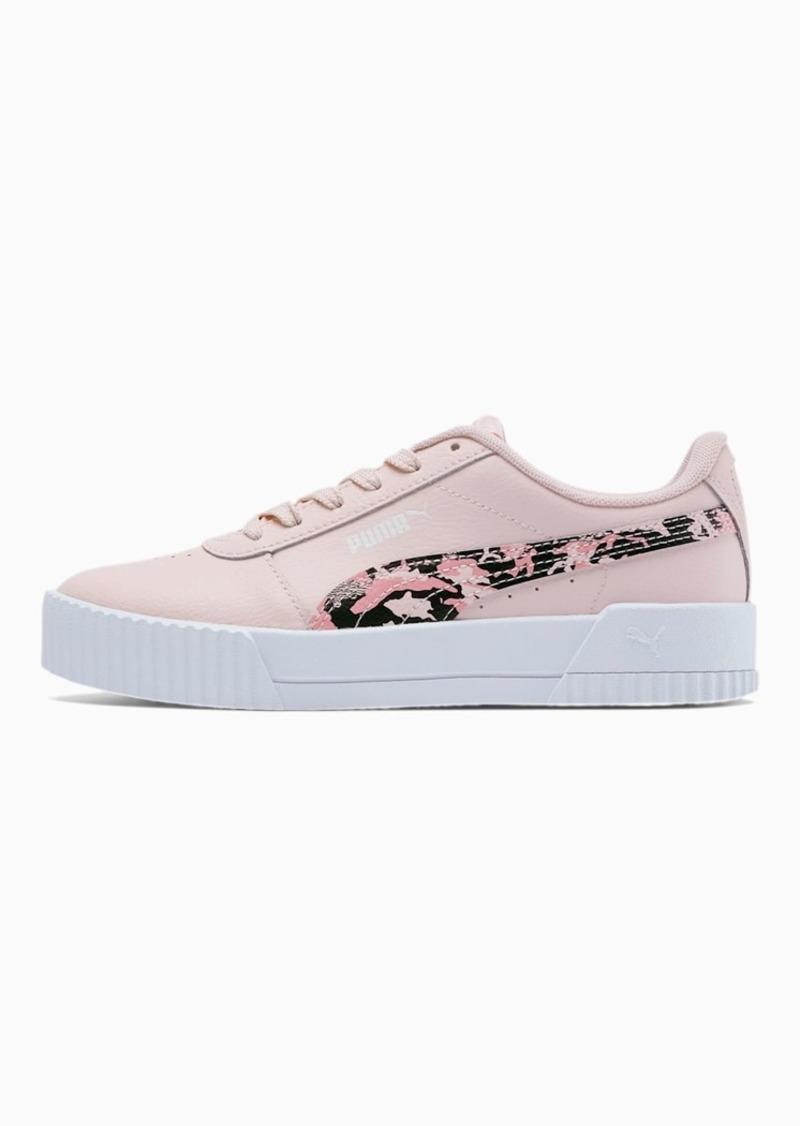 Puma Carina Camo Girls' Shoes JR