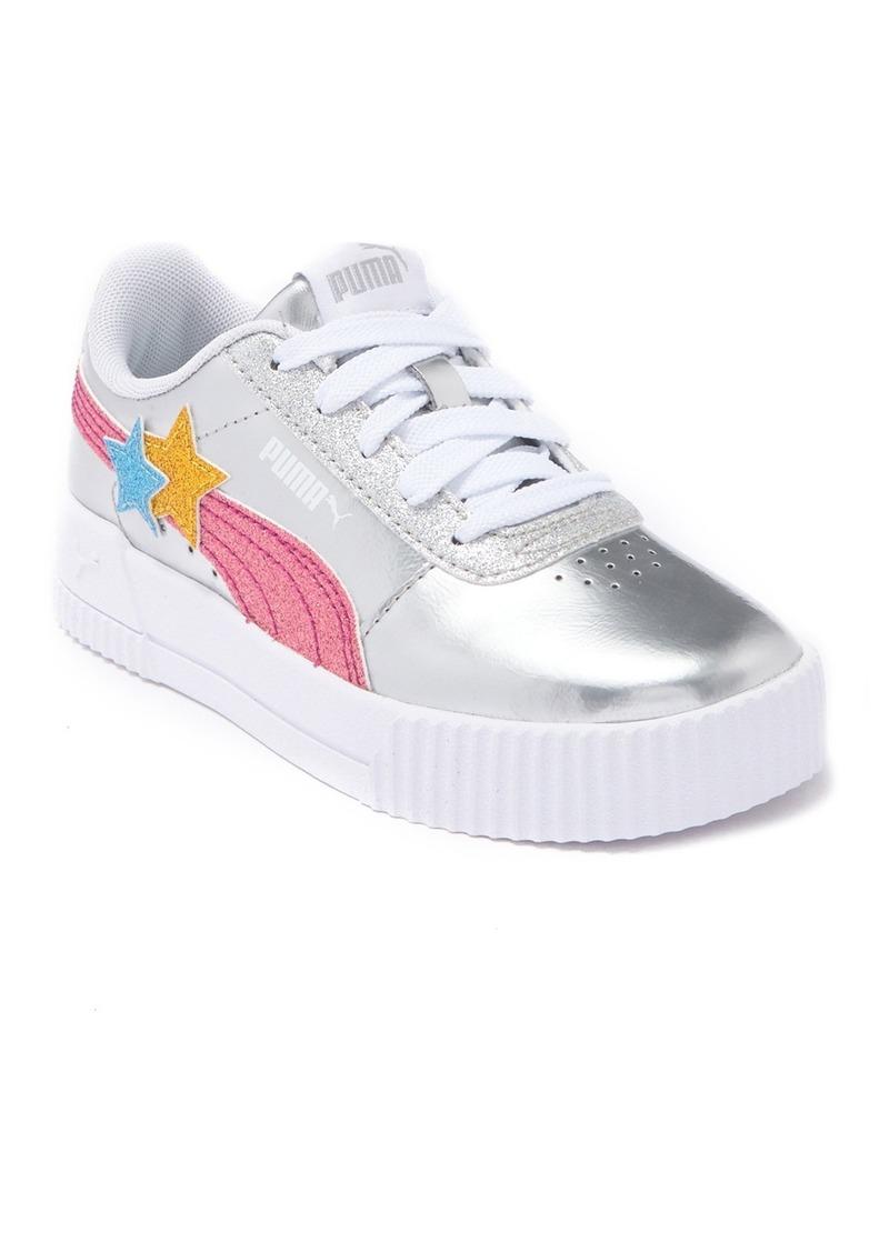 Puma Carina Glitz Stars Jr. Sneaker (Little Kid & Big Kid)
