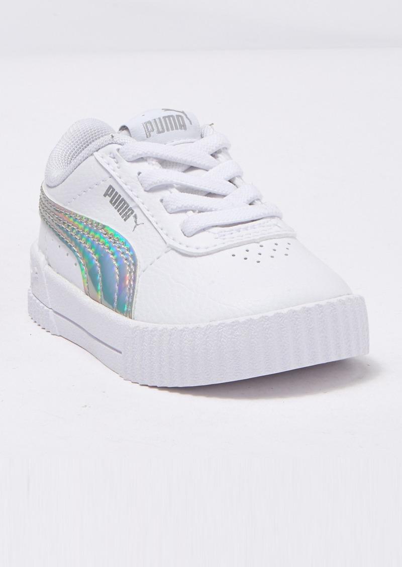 Puma Carina Iridescent Platform Sneaker (Baby & Toddler)