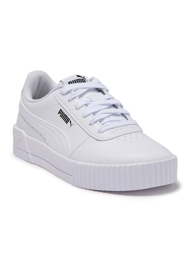 Puma Carina Leather Platform Sneaker