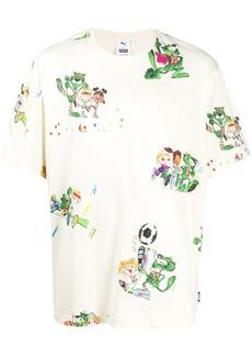 Puma cartoon-print crew neck T-Shirt