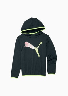 Puma Chase Space Dyed Girls' Long Sleeve Hooded Top JR