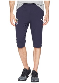 Puma Chivas 3/4 Training Zip Pants with Two Side Pockets
