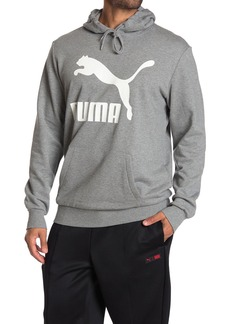 Puma Classic Logo Print Pullover Hoodie
