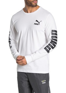 Puma Classics Logo Long Sleeve T-Shirt