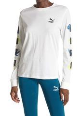 Puma Classics Long Sleeve Printed Shirt