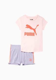 Puma Classics Tee + Short Infant + Toddler Set