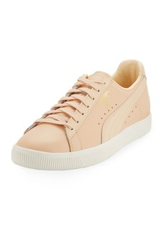 Puma Men's Clyde Perforated Natural Sneakers