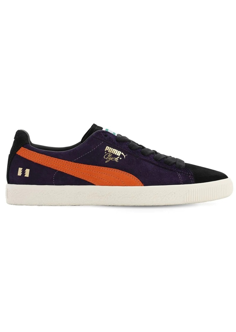 Puma Clyde X The Hundreds Sodalite Sneakers