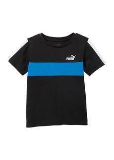 Puma Colorblock Pieced T-Shirt (Big Boys)