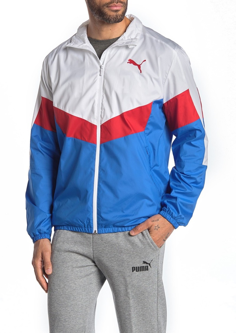 Puma Colorblock Windbreaker