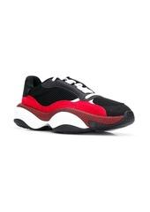 Puma colour block mesh sneakers