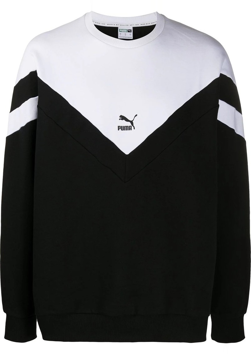 Puma colour block sweater