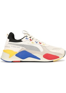 Puma colour blocked panelled sneakers
