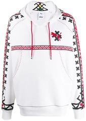 Puma contrast logo hoodie