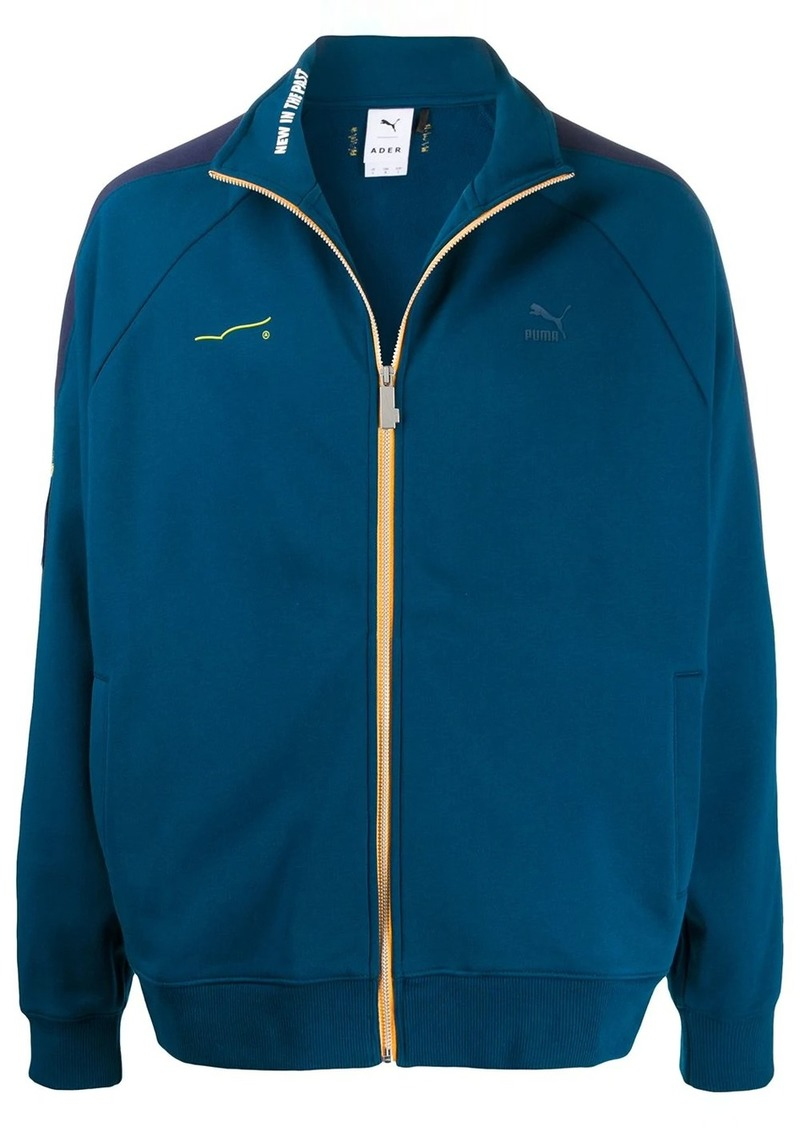 Puma contrast logo jacket