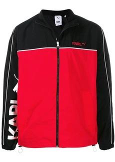 Puma contrast-panel jacket