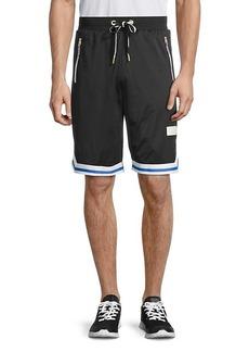 Puma Contrast-Trim Mesh Shorts