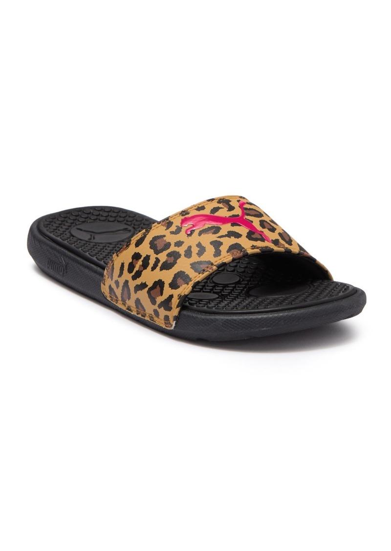 Puma Cool Cat Leopard Slide Sandal